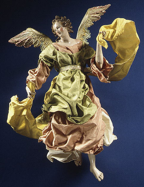 Angel Date- second half 18th century Culture- Italian Naples
