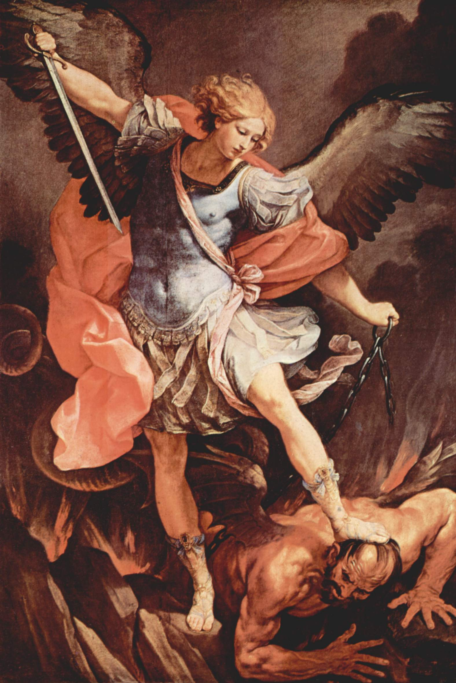 Michael and Satan by Guido Reni c. 1636